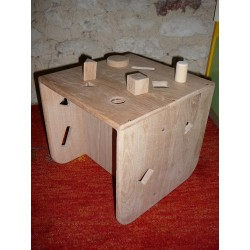 Cube fauteuil d'activité...
